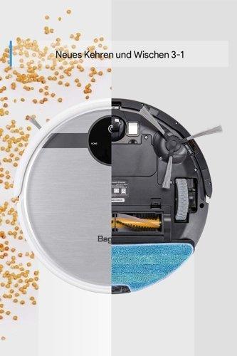 Robot sprzątający/ Odkurzacz automatyczny hybrydowy BAGOTTE BL509W