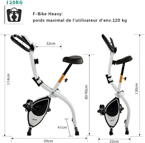 Rower treningowy  ISE F-BIKE Indoor SY-810