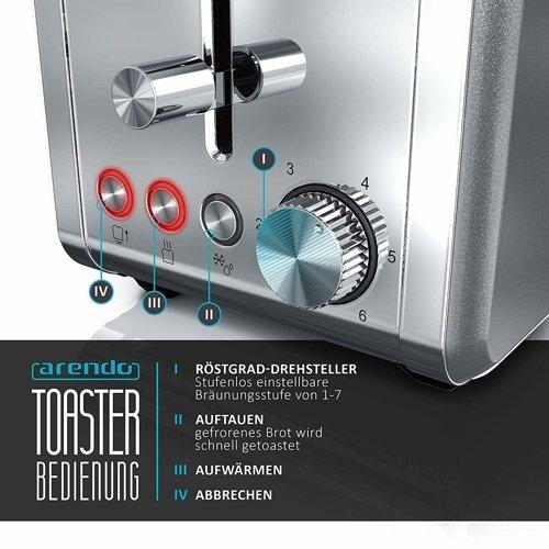 Toster ARENDO Desayuno