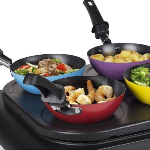 Zestaw 3w1 Naleśnikarka, wok i grill TRISTAR BP2827