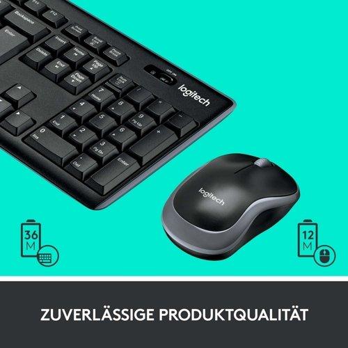 Zestaw klawiatura i mysz LOGITECH Wireless Combo MK270